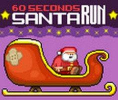 60 Saniye Noel Baba Koşusu oyunu oyna