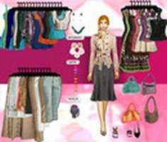 Barbie Dress Up 1 Game