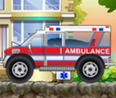 Ambulans Kamyon Sürücüsü 2 oyunu oyna
