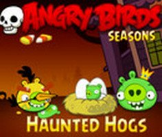 Angry Birds Haunted Hogs Game