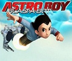 Astro Boy botlari patlatma oyunu oyna
