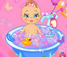 Bebek Banyo Yaptırma oyunu oyna