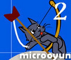 Cat with Bow Golf 2 Game