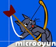 Kedi Ok Golfü oyunu oyna