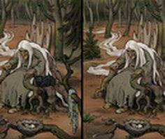 Cadı Çocuk: Fark Bulmaca oyunu oyna