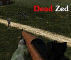 Tüfekle Zombi Avı oyunu oyna