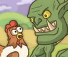 Gıdaklayan Tavuklar oyunu oyna