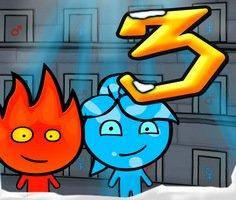 Ateş ve Su 3 Buz Tapınağı oyunu oyna
