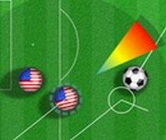 Bilardo Futbol oyunu oyna