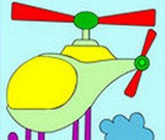Helikopter Boyama oyunu oyna