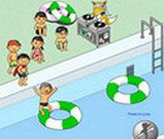 Havuza Atlama oyunu oyna