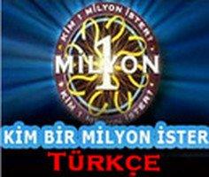 Kim Milyoner Olmak İster Oyunu Türkçe oyunu oyna
