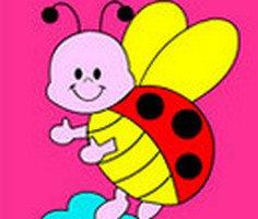 Uğur Böceği Boyama oyunu oyna