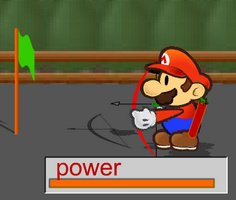 Okçu Mario oyunu oyna