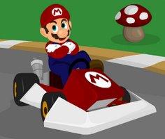 Mario Yarış Arabası oyunu oyna
