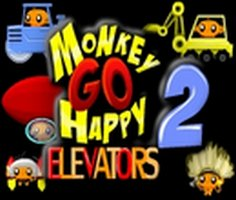 Monkey Go Happy Elevators 2 Game