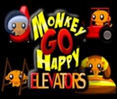 Maymunu Mutlu Et: Asansörler oyunu oyna
