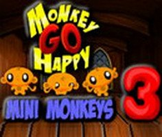 Monkey Go Happy Mini Monkeys 3 Game