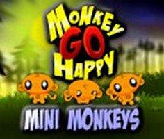 Maymunu Mutlu Et Mini Maymunlar oyunu oyna