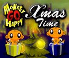 Maymunu Mutlu Et: Yılbaşı Zamanı oyunu oyna