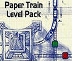 Paper Train Level Pack Game