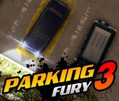 Öfkeli Araba Park Etme 3 oyunu oyna