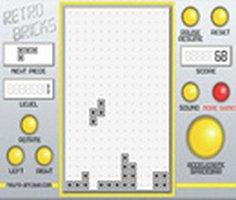 Retro Tetris oyunu oyna