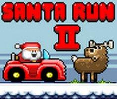 Noel Baba Koşusu 2 oyunu oyna