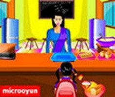 Okul Öğle Yemeği oyunu oyna