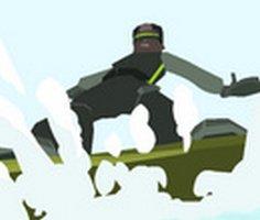 3D Kar Kaykayı oyunu oyna