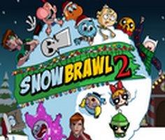 Çizgi Film Kahramanları Kartopu Savaşı 2 oyunu oyna