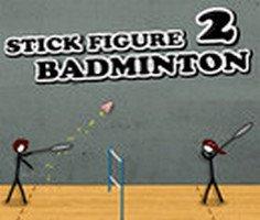 Çöp Adam Badminton 2 oyunu oyna
