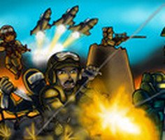 Strike Force Heroes Game