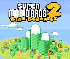 Super Mario Bros Star Scramble 2 Game