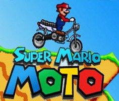 Süper Mario Moto oyunu oyna