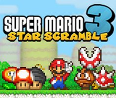 Super Mario Star Scramble 3 Game