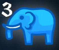 Mavi Fil 3 oyunu oyna