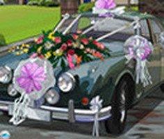 Düğün Arabası Süsleme oyunu oyna